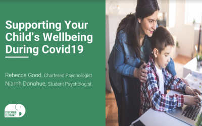 Free booklet on supporting your child's wellbeing during Covid19